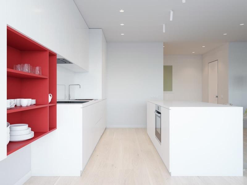 Минималистичная кухня 4