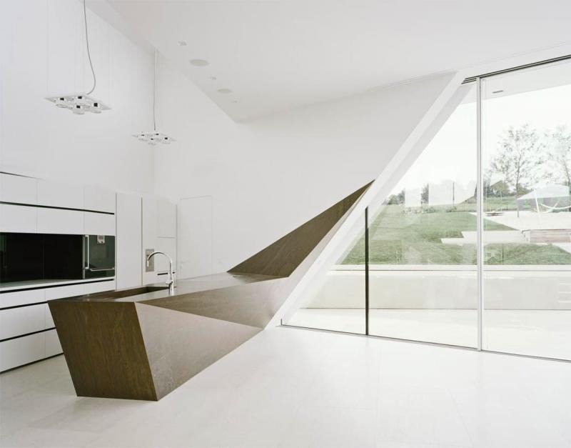 Стиль минимализм в интерьер кухни 10