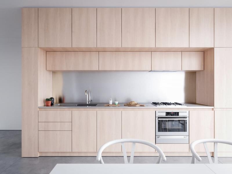Стиль минимализм в интерьер кухни 3