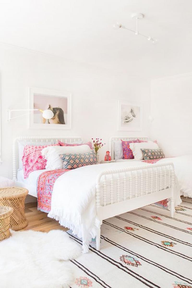 Текстуры в спальне для девушки 1
