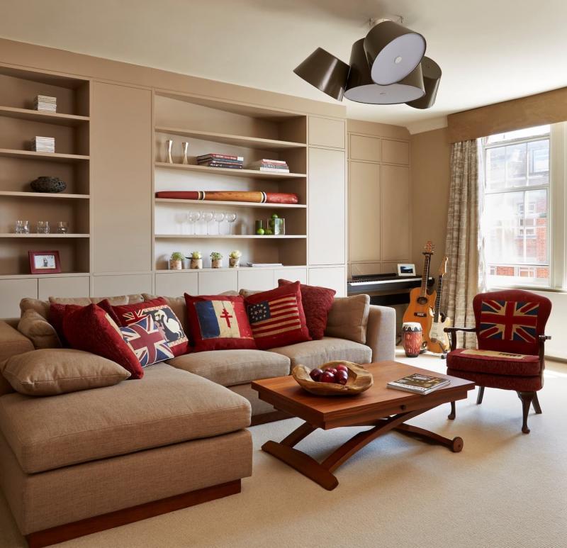 Дизайн гостиной 9