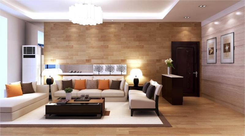 Стильный интерьер гостиной 7