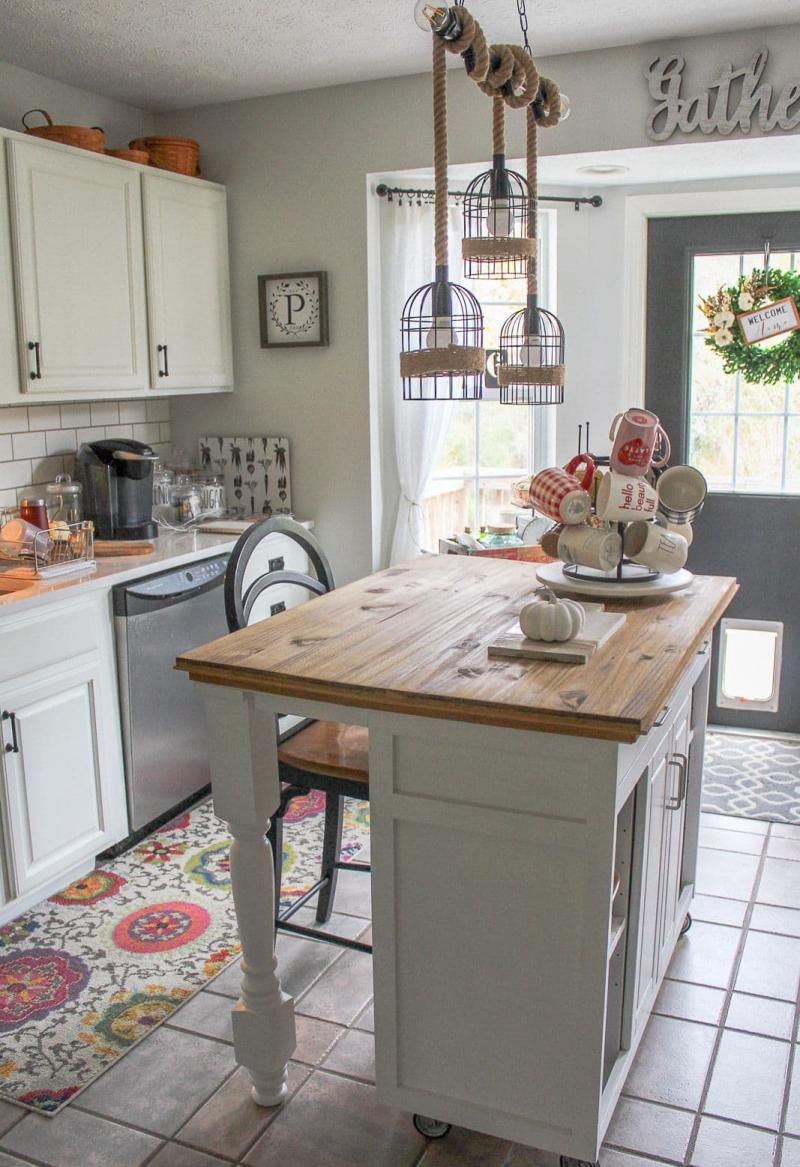 Дизайн маленькой кухни в прованском стиле 1