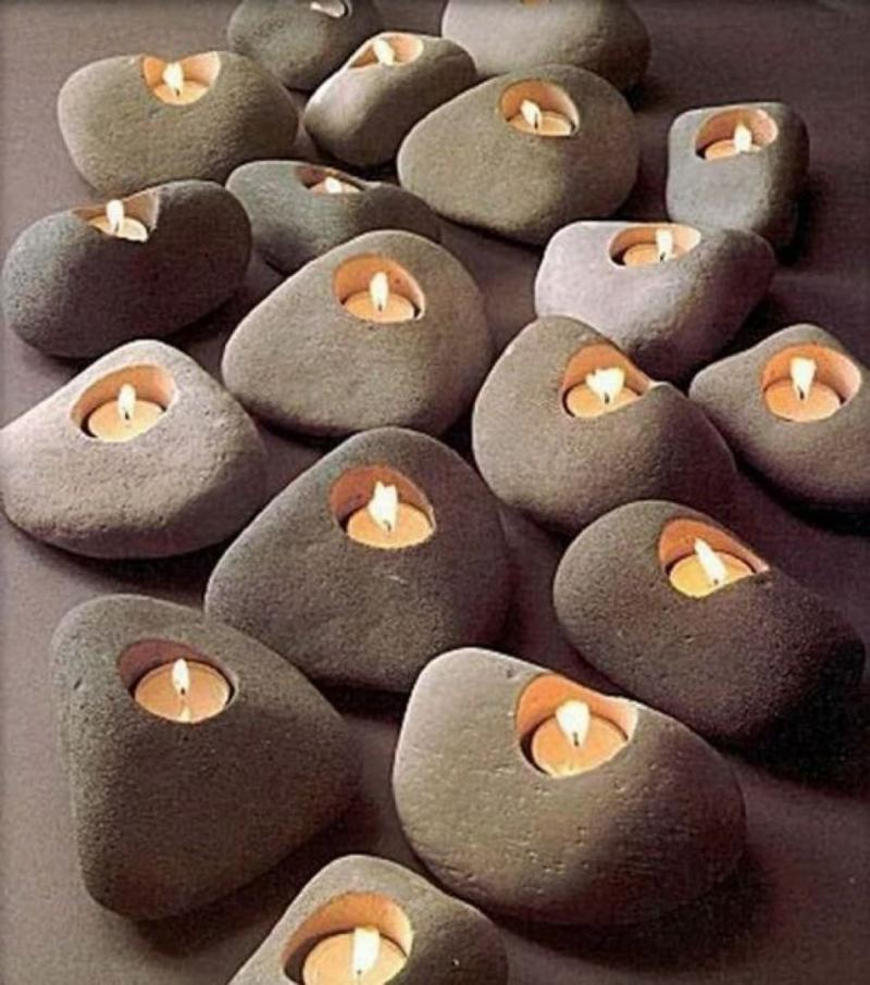Подсвечники из камня 1