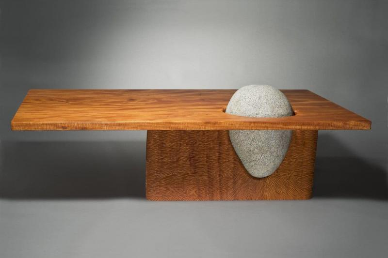 Столик из камня 1