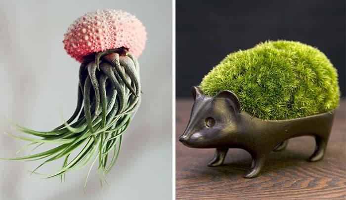Креативные горшки - Животные 1