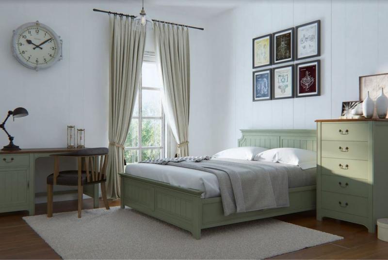 Спальня в прованском стиле 5