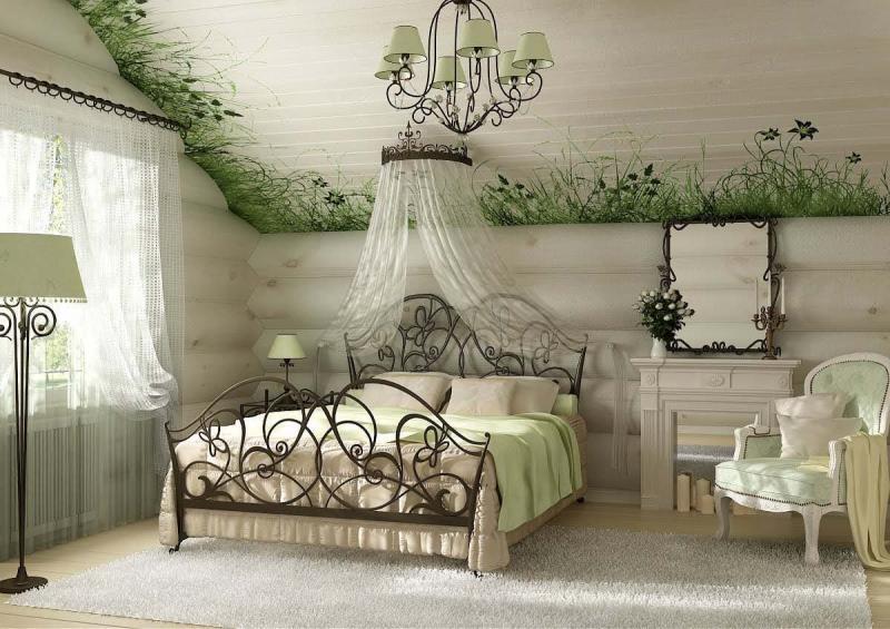 Спальня в прованском стиле 8