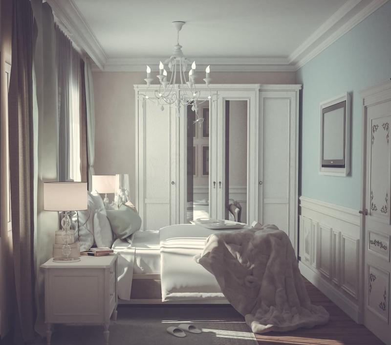 Спальня в стиле прованс 3