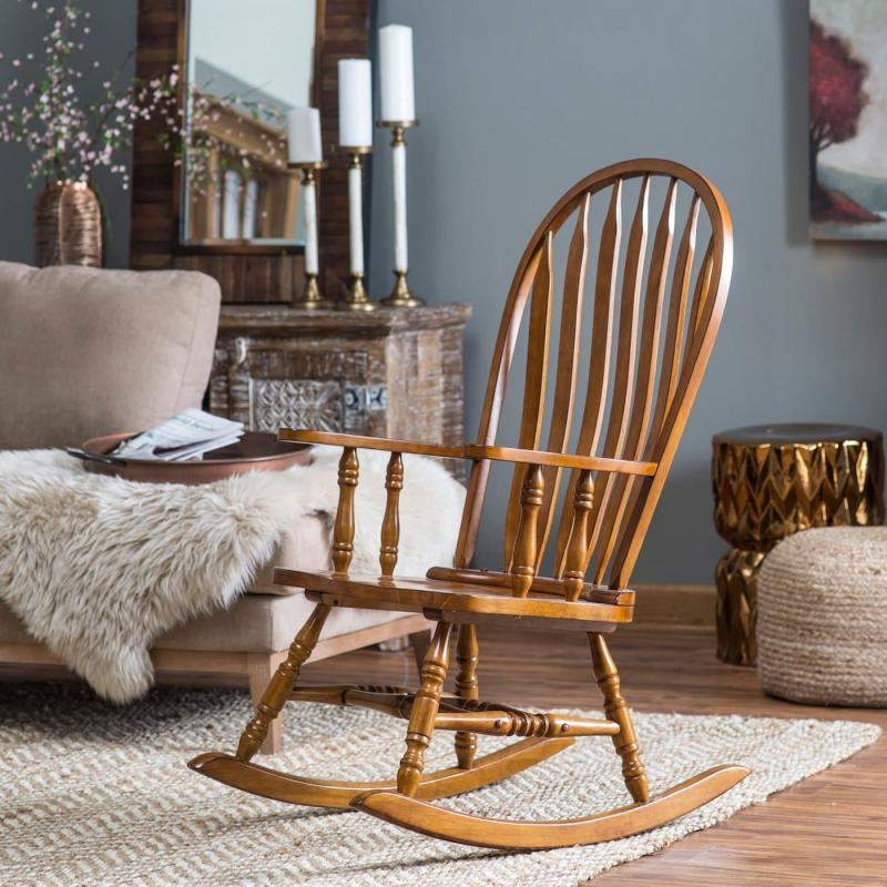 Кресло-чалка в интерьере 2