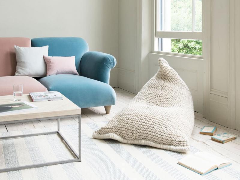 Кресло-мешок в интерьере 2