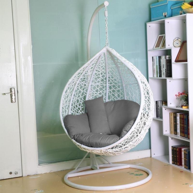 Подвесное кресло в интерьере 2