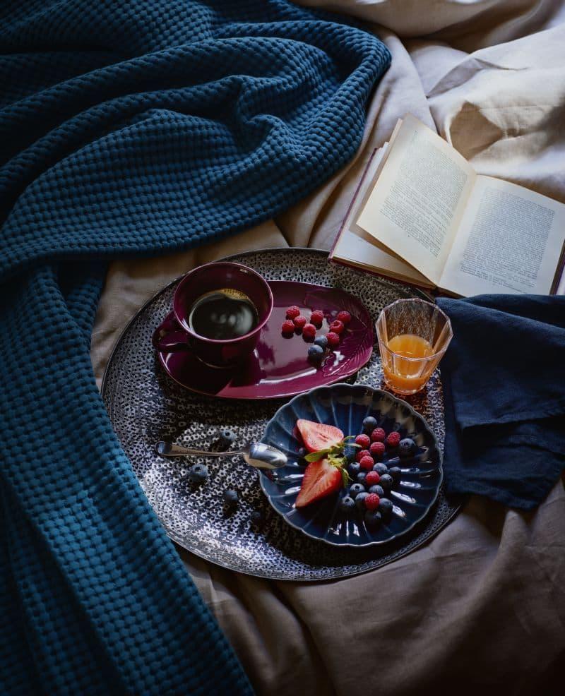 Новогодня посуда от Икеа 1
