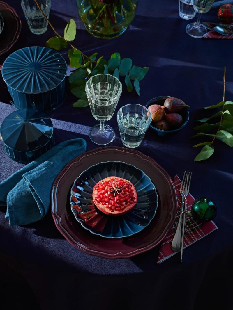 Новогодня посуда от Икеа 2
