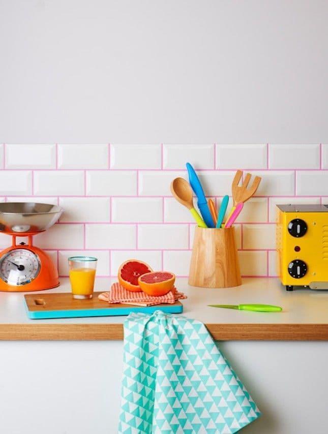 Цветные швы для кухни 2019 2