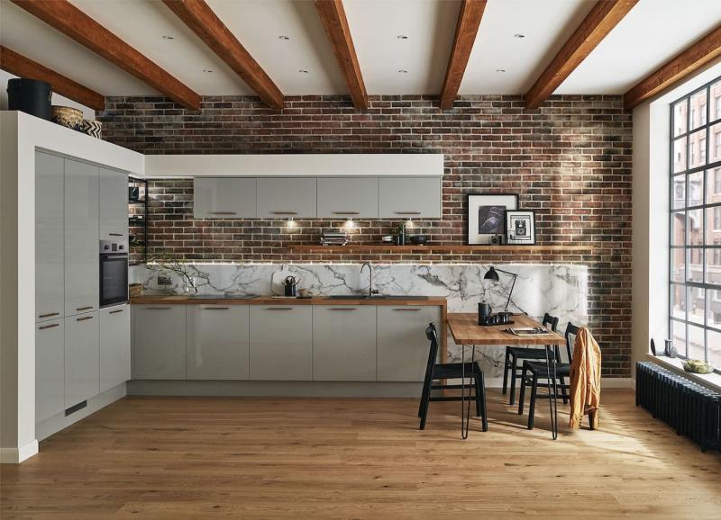 Фасады для кухни 2019 глянцевые 1