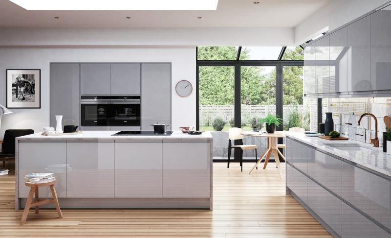 Фасады для кухни 2019 глянцевые 3