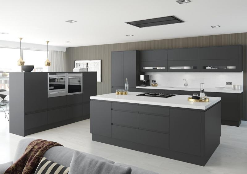 Фасады для кухни 2019 матовые 2