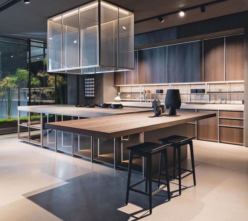 Фасады для кухни 2019 сетчатые 1