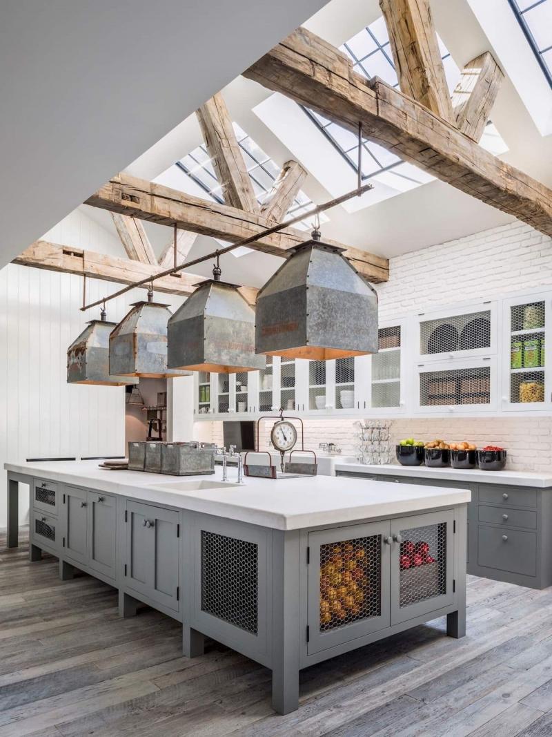 Фасады для кухни 2019 сетчатые 2