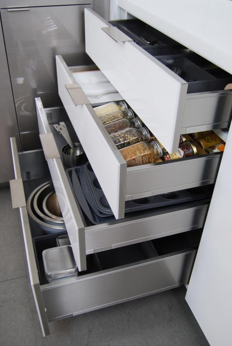 Глубокие ящики для кухни 2019 3