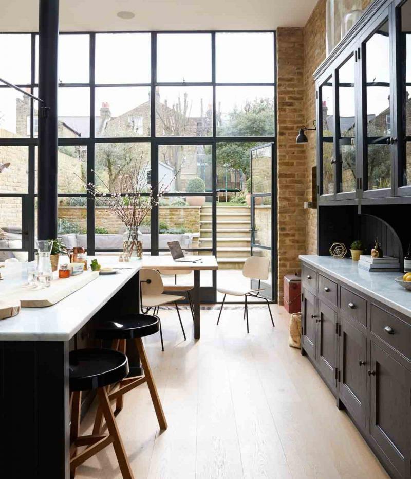 Кухонный гарнитур для куни 2019 темный 2
