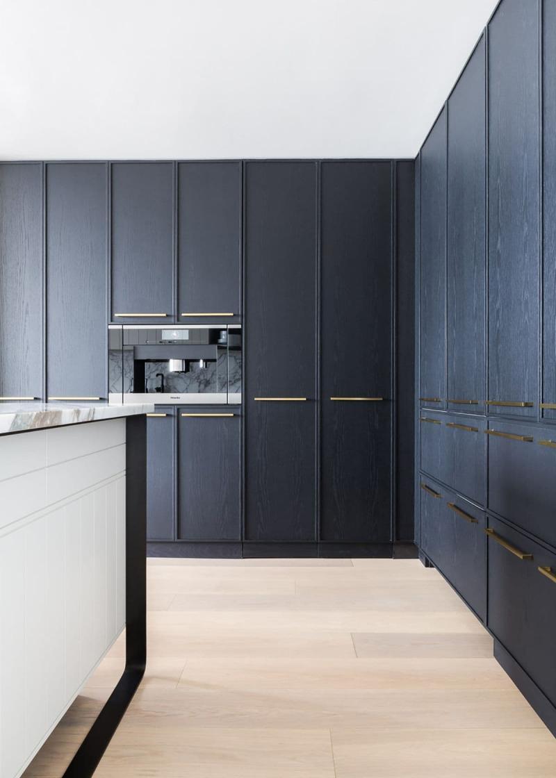 Кухонный гарнитур для куни 2019 темный 3