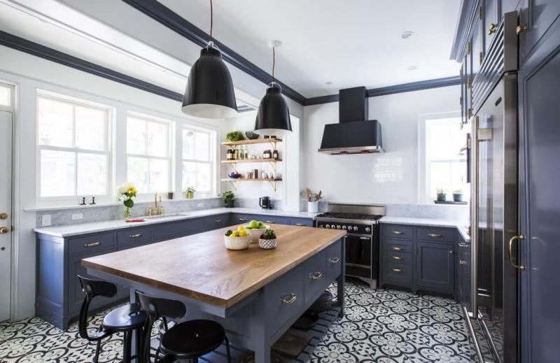 Напольное покрытие для кухни 2019 1