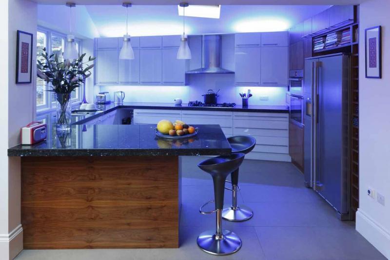 Освещение для кухни 2019 неяркое 3