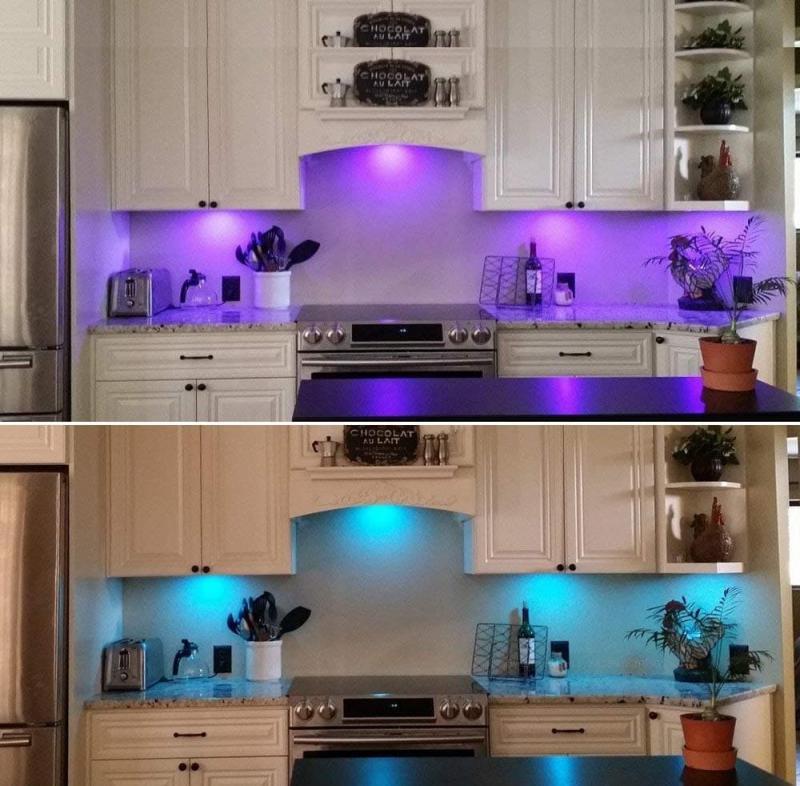 Освещение для кухни 2019 неяркое 4