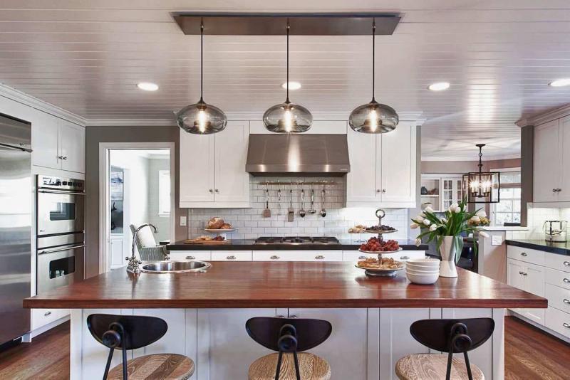 Подсвесные светильники для кухни 2019 1