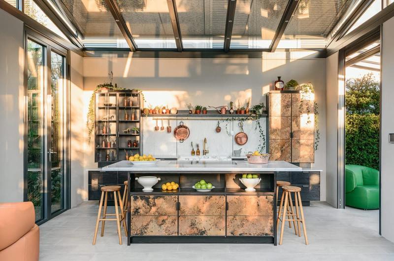 Стиль смешаный кухни 2019 2