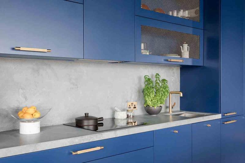 Столешница для кухни 2019 бетонная 2