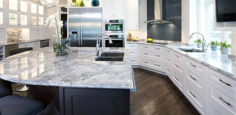 Столешница для кухни 2019 кварцевая 1