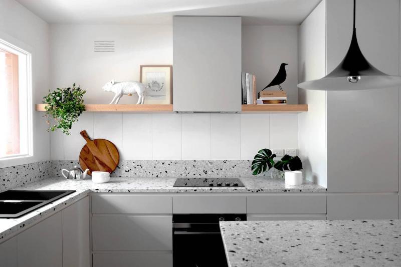 Столешница для кухни 2019 терраццо 1
