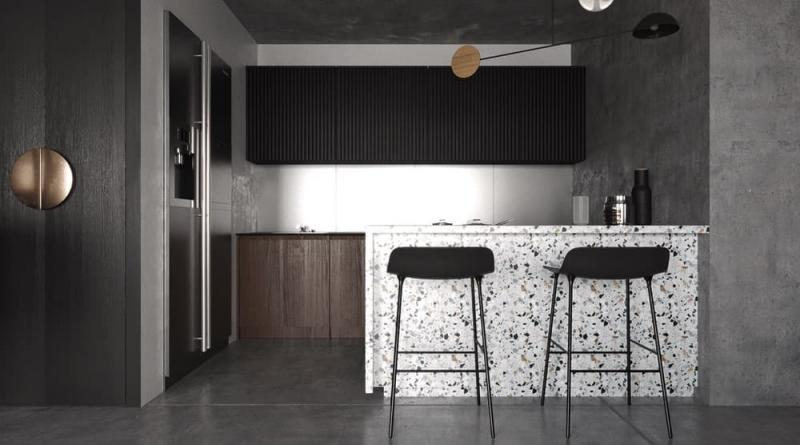 Столешница для кухни 2019 терраццо 2