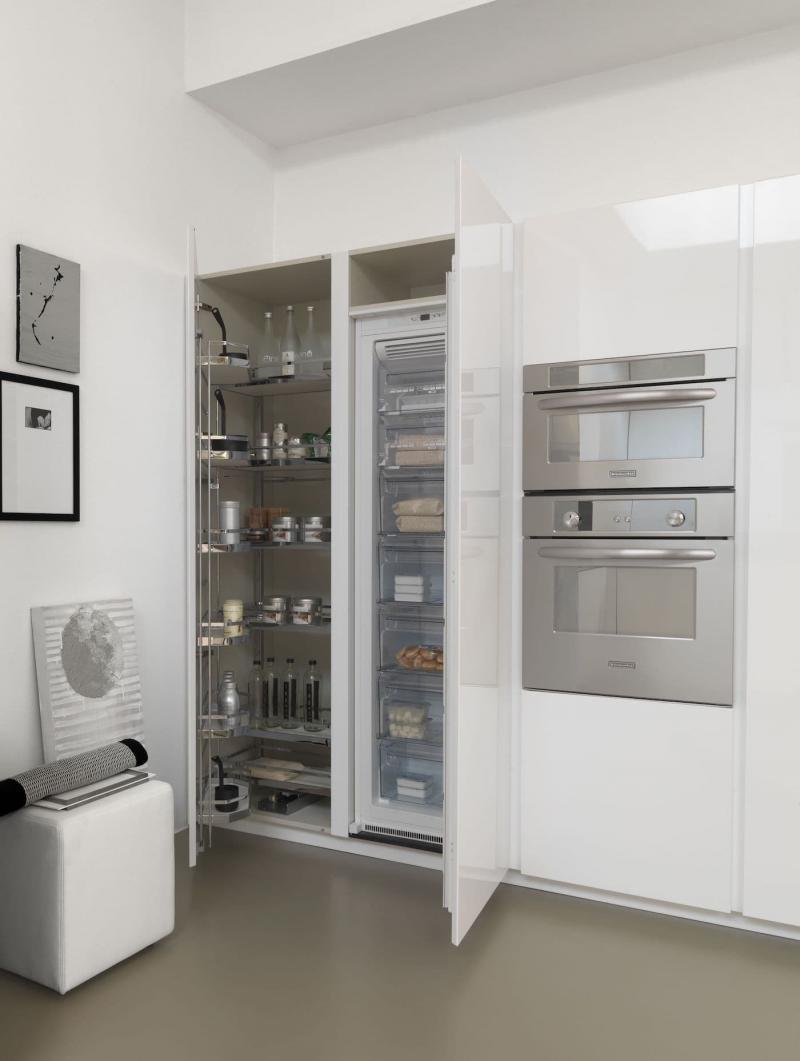 Высокий холодильник для кухни 2019 2
