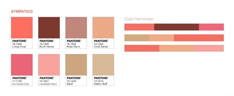 Цветовые палитры Pantone 3