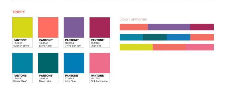 Цветовые палитры Pantone 4