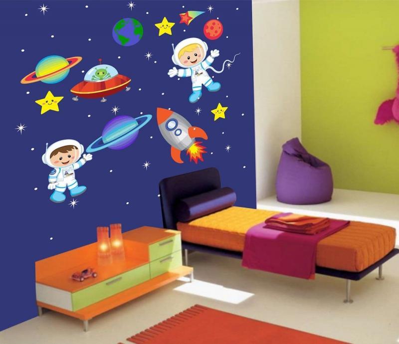 Космический дизайн детской 2