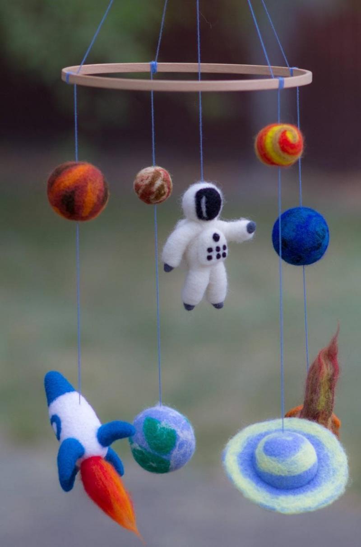 Космический интерьер детской 6