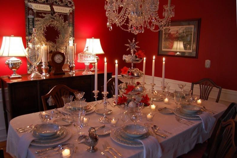 Свечи к новогоднему столу