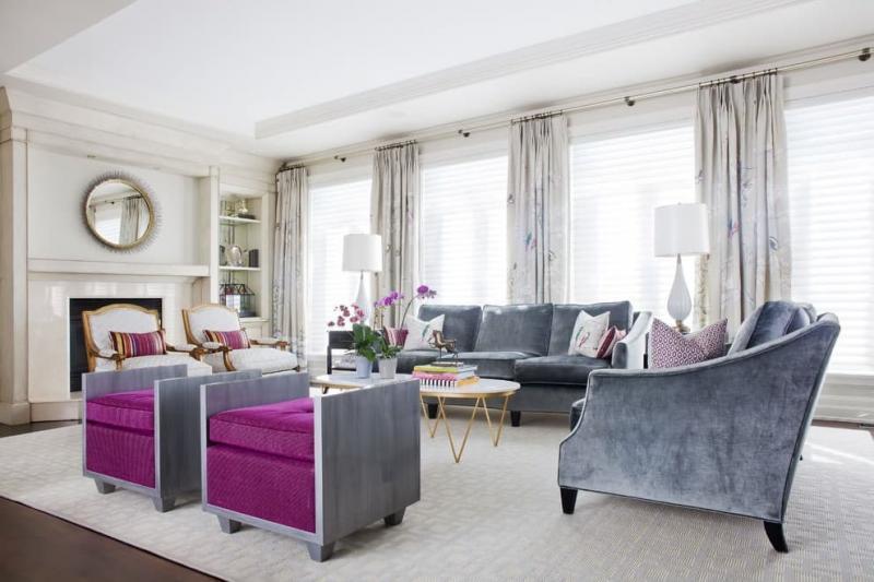 Масштабирование пространства в гостиной 2019 2