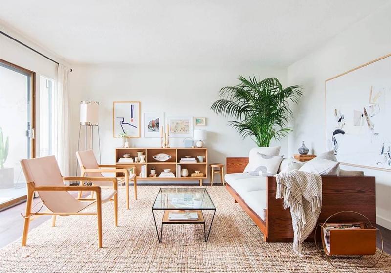 Подбор оттенков в интерьере гостиной 345