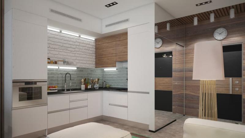Фасады для кухни 12 кв. м 3