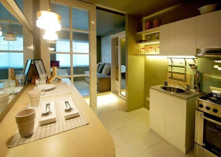 Освещение на кухне 12 кв. м 1