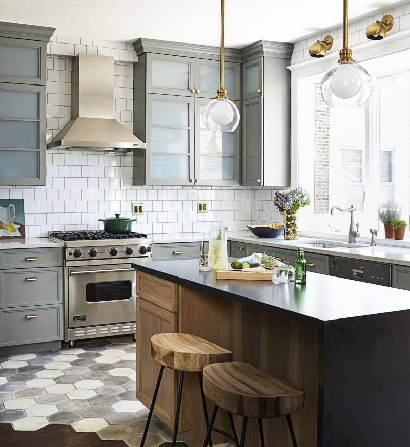 Пол на кухне 12 кв.м 2