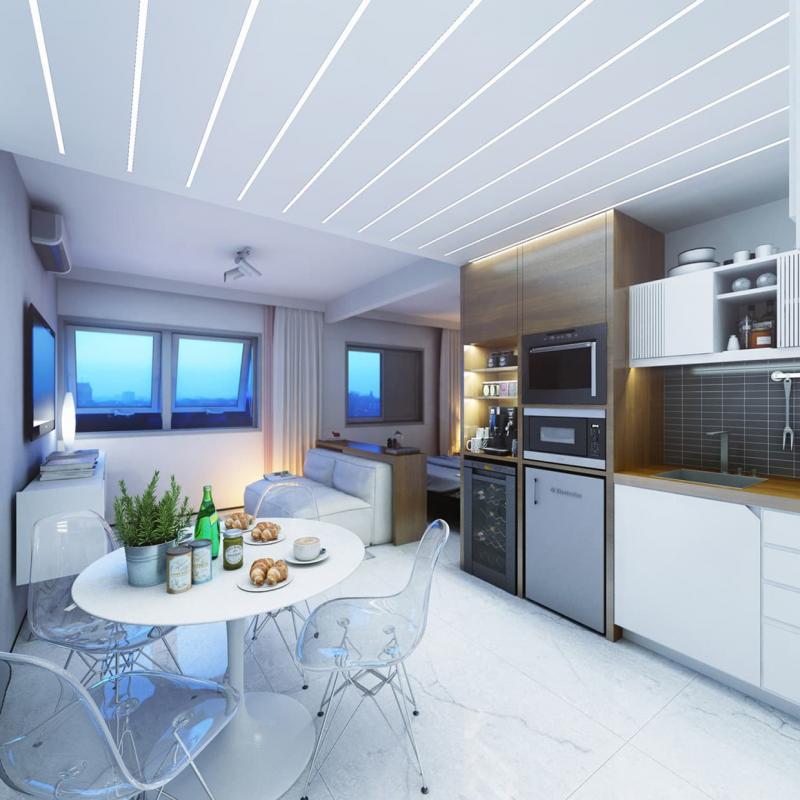 Потолок для кухни 12 кв.м 1