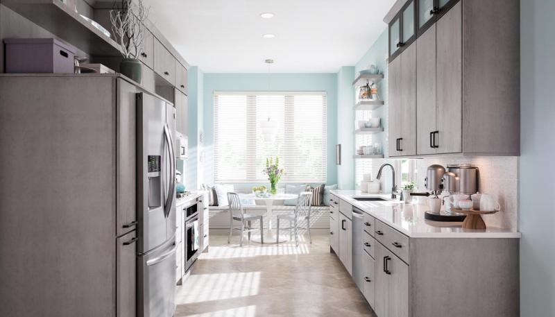 Стиль для кухни 12 кв.м минимализм 1