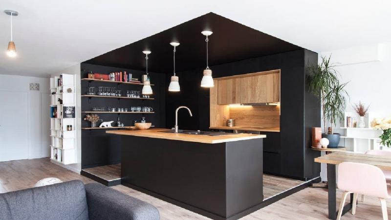 Стиль для кухни 12 кв.м современный 1